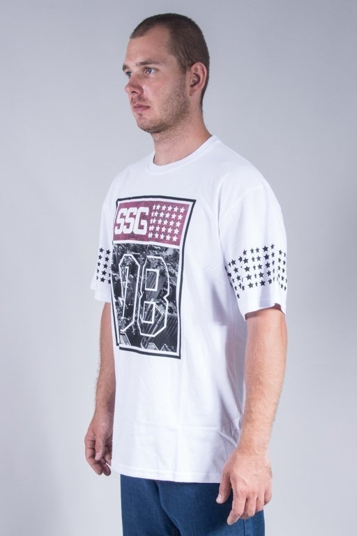 SSG T-SHIRT RED 08 WHITE