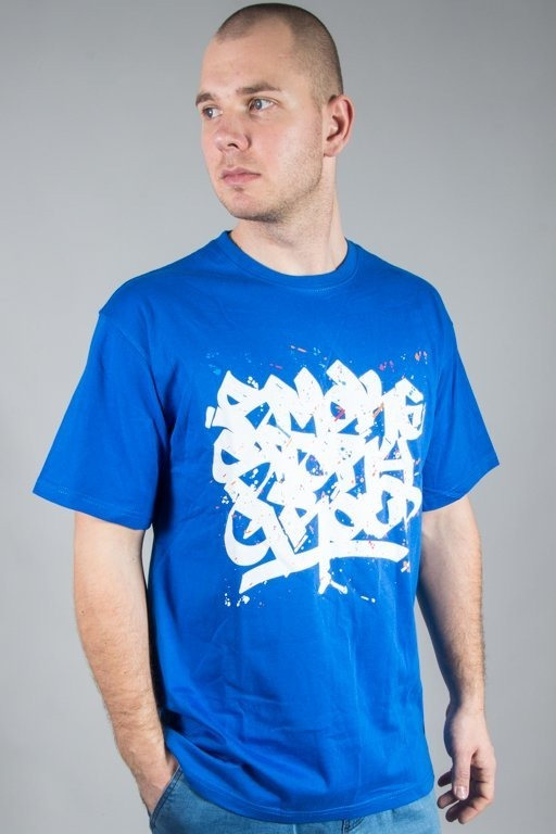 SSG T-SHIRT SMOKE TAG BLUE