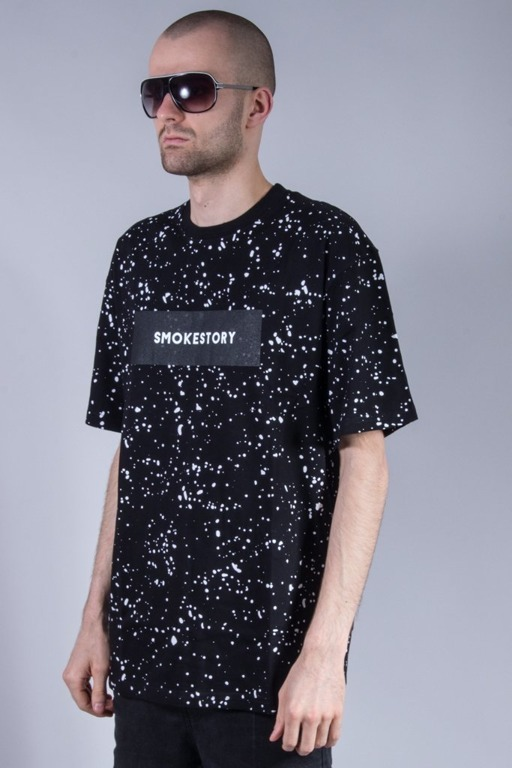 SSG T-SHIRT SPLASH BLACK