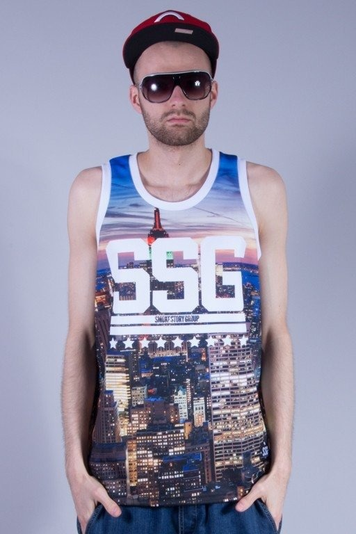 SSG TANK TOP CITY WHITE