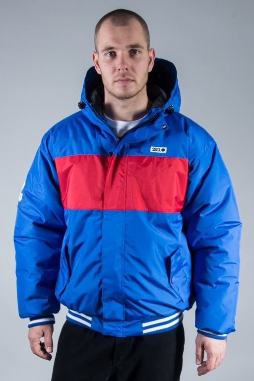 SSG WINTER JACKET FLYERS LINE BLUE-RED