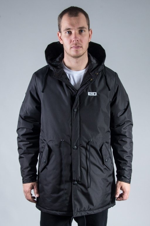 SSG WINTER JACKET STREET PARKA BLACK