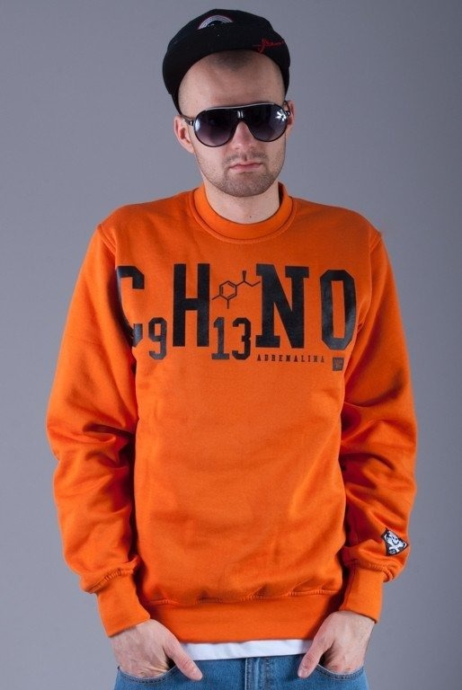 STOPROCENT BLUZA BEZ KAPTURA DRUG ORANGE