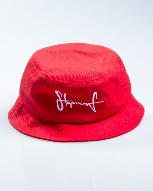 STOPROCENT BUCKET HAT RED
