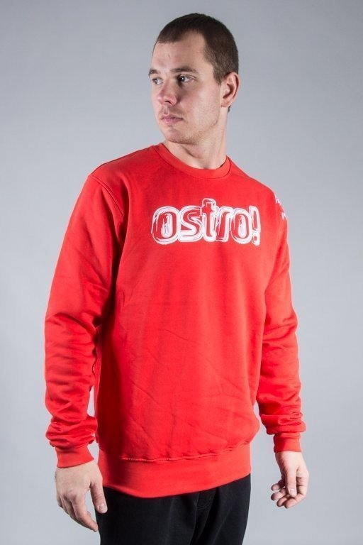 STOPROCENT CREWNECK OSTRO RED