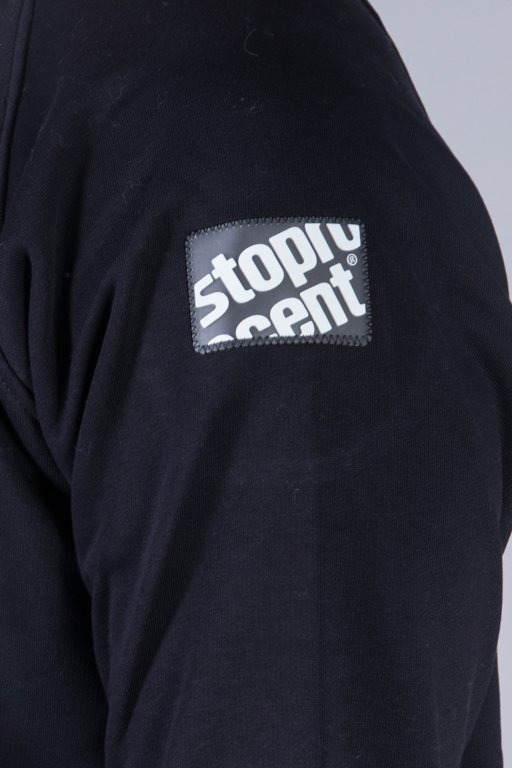 STOPROCENT CREWNECK STENCIL BLACK