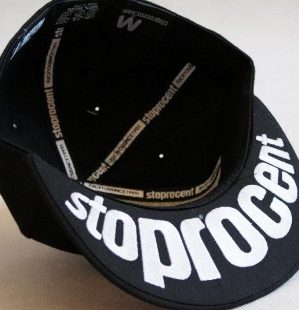 STOPROCENT CZAPKA FULLCAP BASEBALL MIDDLE FINGER