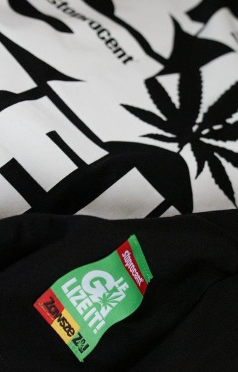 STOPROCENT KOSZULKA LEGALIZE IT BLACK-WHITE