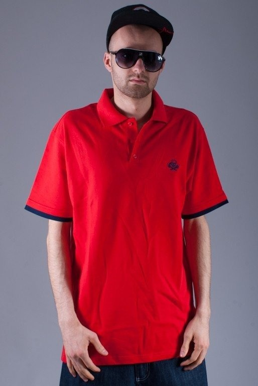 STOPROCENT KOSZULKA POLO HC TRUST RED