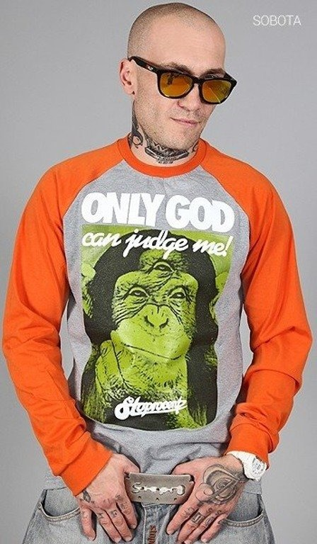 STOPROCENT LONGSLEEVE JUDGE MELANGE-ORANGE