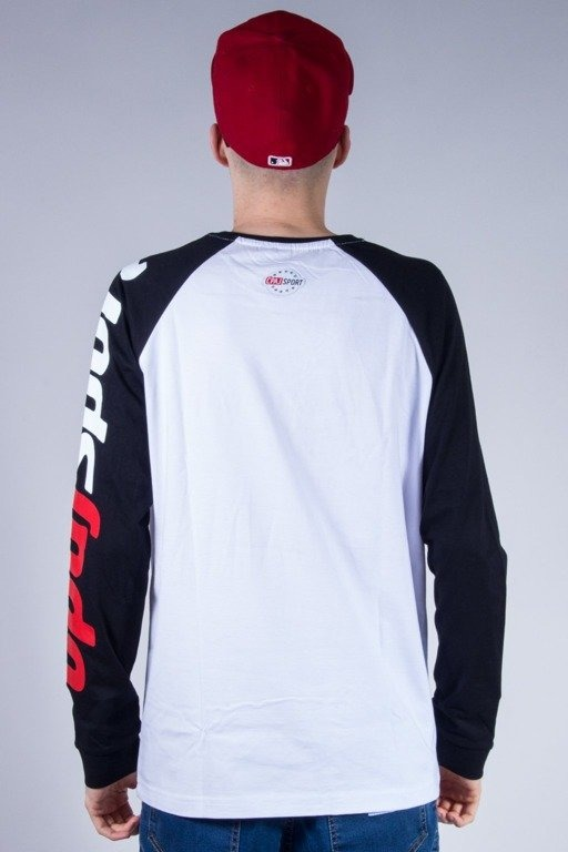 STOPROCENT LONGSLEEVE TAG WHITE-BLACK
