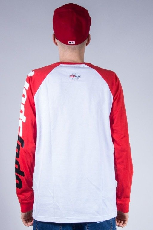 STOPROCENT LONGSLEEVE TAG WHITE-RED