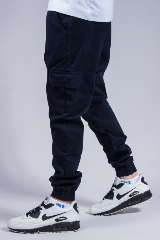 STOPROCENT PANTS CHINO JOGGER ARMY NAVY