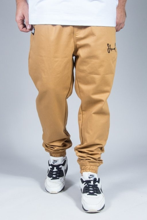 STOPROCENT PANTS CHINO JOGGER CLASSIC16 BEIGE