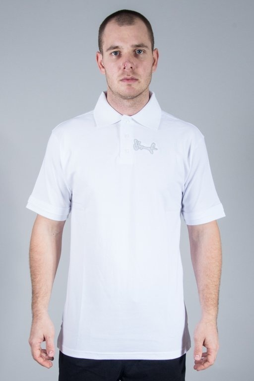 STOPROCENT POLO TAG16 WHITE