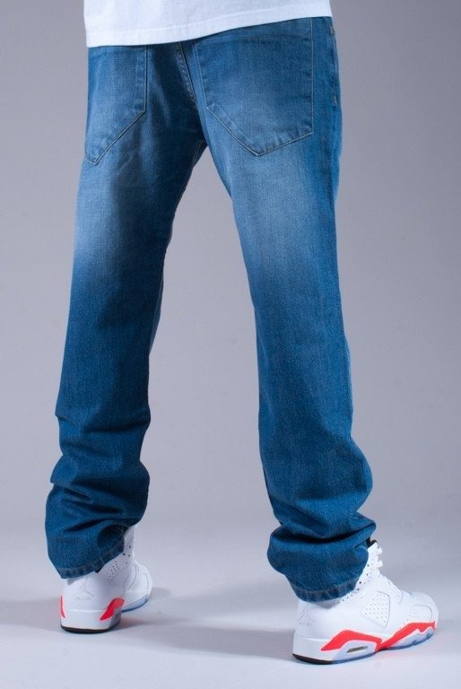 STOPROCENT SPODNIE JEANS LIGHT TRUCK BLUE
