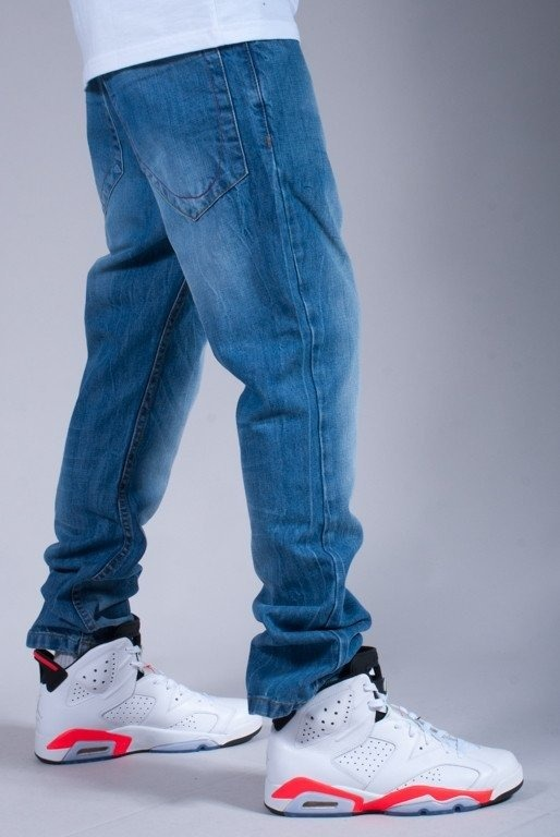 STOPROCENT SPODNIE JEANS LILWAY NEW BLUE