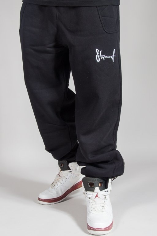 STOPROCENT SWEATPANTS SMALLTAG BLACK