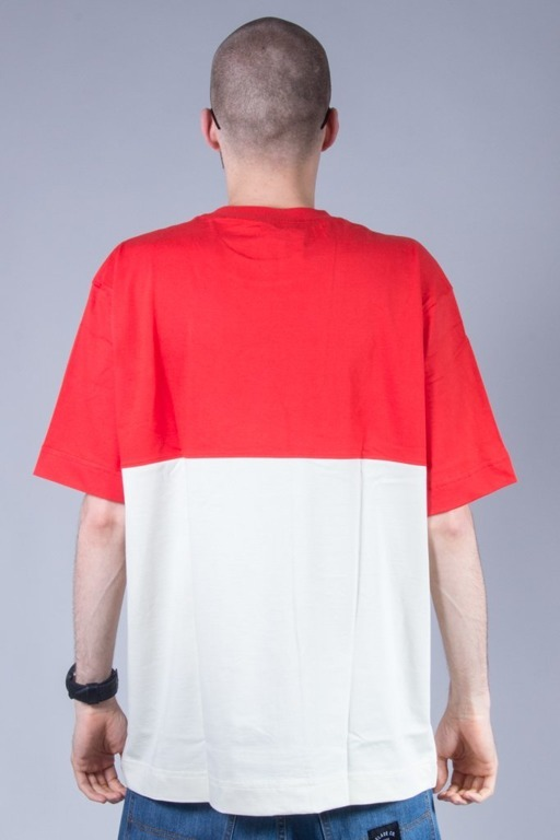 STOPROCENT T-SHIRT GRYF16 RED-BEIGE