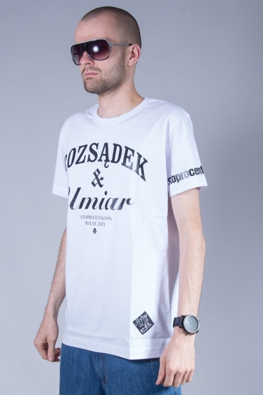 STOPROCENT T-SHIRT UMIAR WHITE