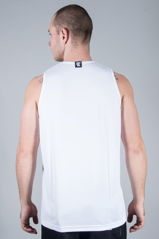 STOPROCENT TANK TOP MUZEUM WHITE