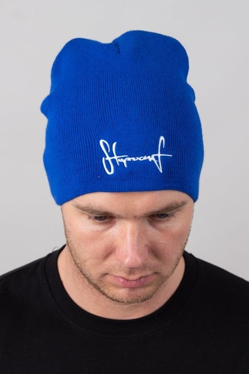 STOPROCENT WINTER CAP SMALLTAG16 BLUE
