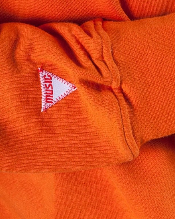 STORPOCENT BLUZA BEZ KAPTURA WOWL ORANGE