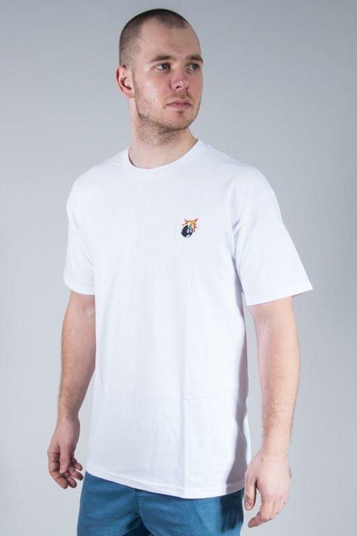 THE HUNDREDS KOSZULKA CREST ADAM WHITE