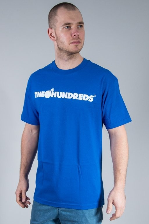 THE HUNDREDS KOSZULKA FOREVER BAR BLUE