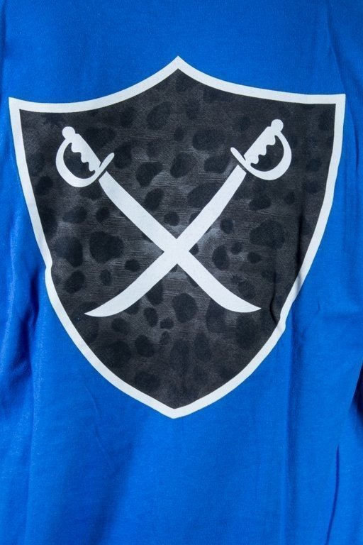 THE HUNDREDS KOSZULKA MIXED SHIELD BLUE
