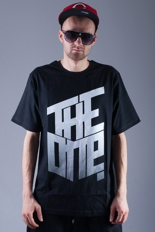 THE ONE KOSZULKA GRADIENT BLACK
