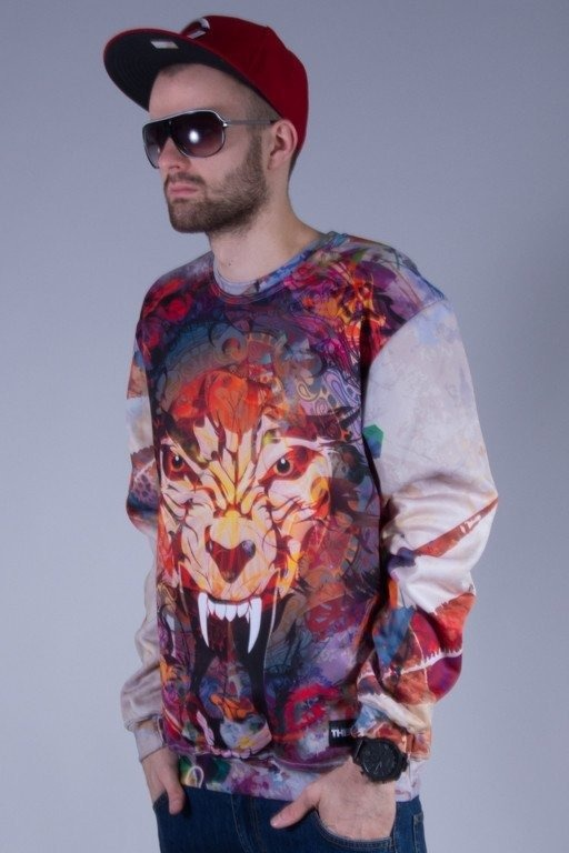 THERAPIA BLUZA BEZ KAPTURA ANGRY CAT