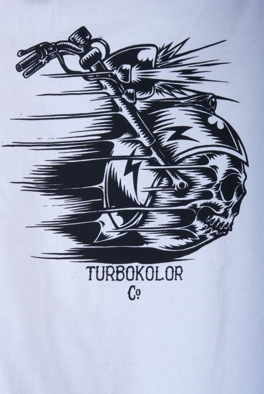 TURBOKOLOR KOSZULKA RACE WHITE