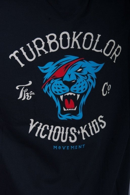 TURBOKOLOR KOSZULKA VICIOUS BLACK