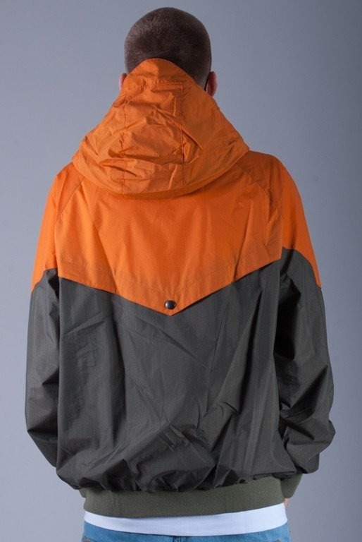 TURBOKOLOR KURTKA EWALD JACKET GREEN-ORANGE