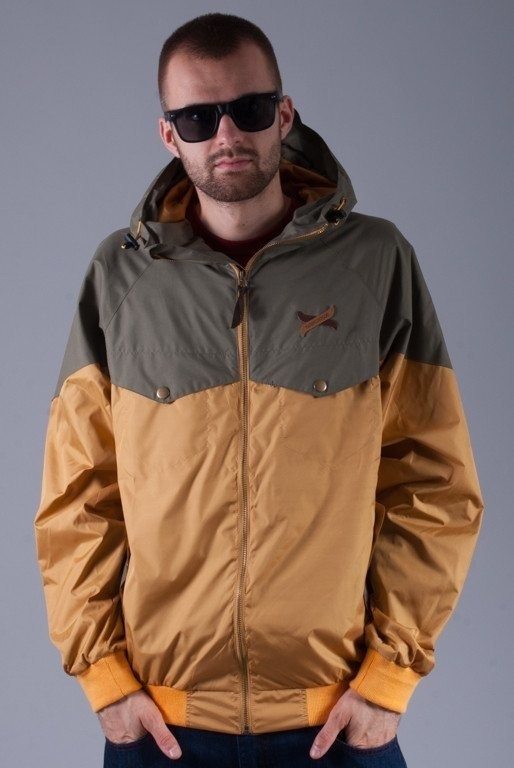 TURBOKOLOR KURTKA EWALD JACKET MUSTARD-GREEN