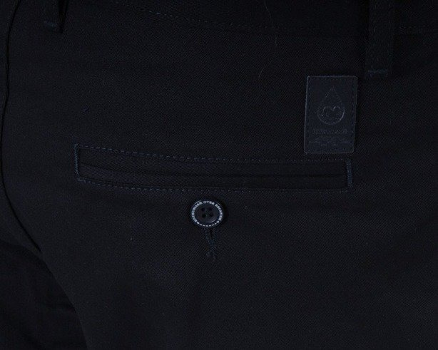 TURBOKOLOR SPODNIE BASIC CHINO REGULAR FIT BLACK