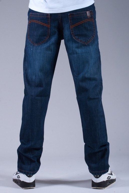 TURBOKOLOR SPODNIE JEANS FW14 PRESIDENT SLIM FIT STONE WASH