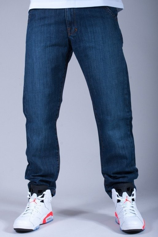 TURBOKOLOR SPODNIE JEANS PRESIDENT SLIM FIT STONE WASH