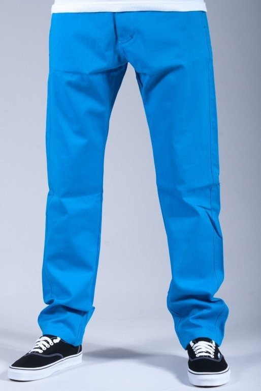 TURBOKOLR SPODNIE SLIM FIT CHINOS BLUE