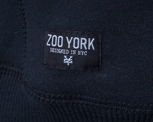 ZOO YORK BLUZA Z KAPTUREM IMMERGUEN BLACK